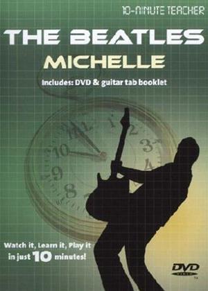 Rent 10 Minute Teacher: The Beatles: Michelle Online DVD Rental