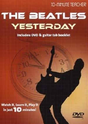 Rent 10 Minute Teacher: The Beatles: Yesterday Online DVD Rental
