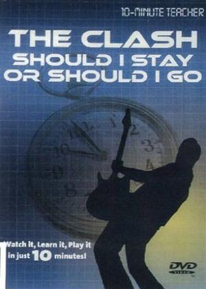 10 Minute Teacher: The Clash: Should I Stay or Should I Go Online DVD Rental