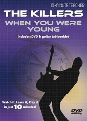 10 Minute Teacher: The Killers: When You Were Young Online DVD Rental