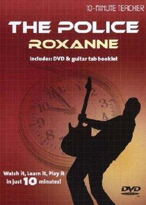 10 Minute Teacher: The Police: Roxanne Online DVD Rental