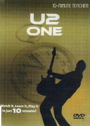 10 Minute Teacher: U2: One Online DVD Rental