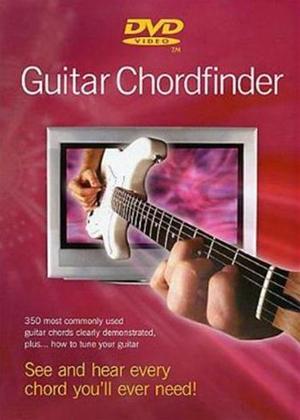Rent Guitar Chordfinder Electric GTR Online DVD Rental