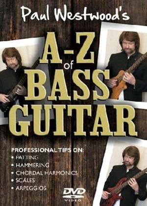 Paul Westwood: A to Z of Bass Guitar Online DVD Rental