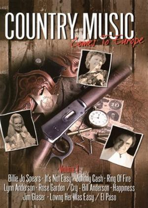 Country Music Comes to Europe: Vol.1 Online DVD Rental