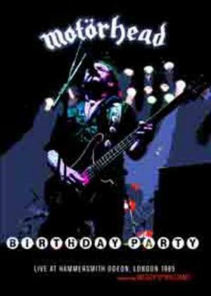 Rent Motorhead: Birthday Party Online DVD Rental