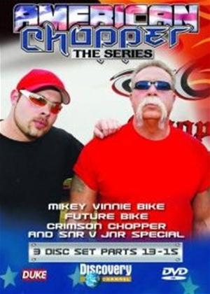 Rent American Chopper: Part 15: Crimson Chopper and SNR V JNR Online DVD Rental
