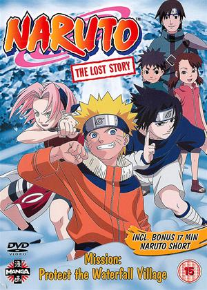 Naruto: The Lost Story Online DVD Rental
