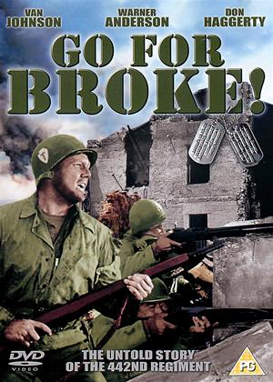 Rent Go for Broke! Online DVD Rental