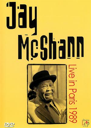 Jay McShann: Live in Paris 1989 Online DVD Rental