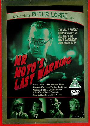 Mr. Moto's Last Warning Online DVD Rental