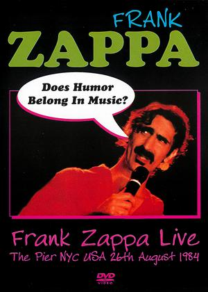 Frank Zappa: Does Humour Belong in Music? Online DVD Rental