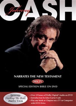 Johnny Cash Narrates the NKJV New Testament Bible Online DVD Rental
