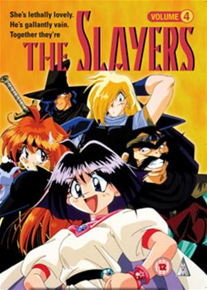 The Slayers: Vol.4 Online DVD Rental