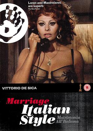 Rent Marriage Italian Style (aka Matrimonio all'italiana) Online DVD Rental