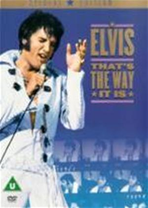 Elvis Presley: That's the Way It Is: Special Edition Online DVD Rental