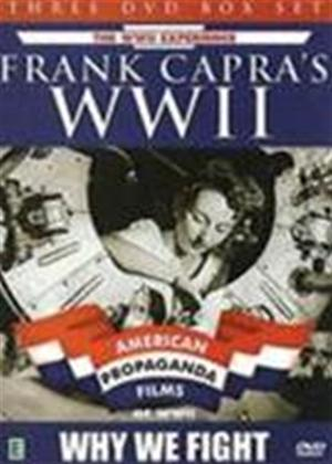 Rent Frank Capra's World War II: Why We Fight: American Propaganda Films of WWII Online DVD Rental
