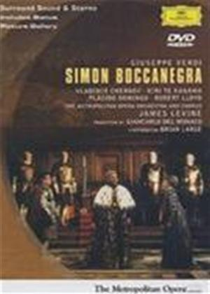 Rent Verdi: Simon Boccanegra: Placido Domingo at the Metropolitan Opera Online DVD Rental