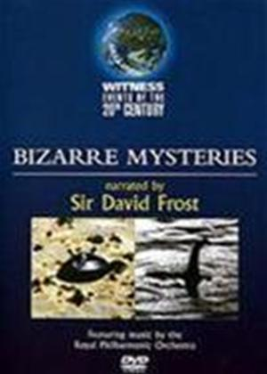 Witness Events of the 20th Century: Bizarre Mysteries Online DVD Rental