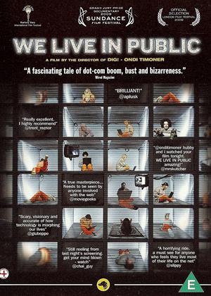 We Live in Public Online DVD Rental
