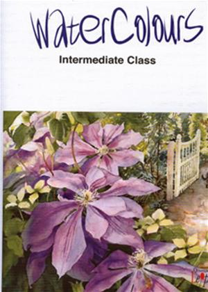 Rent Watercolours: Intermediate Class Online DVD Rental
