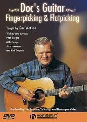 Rent Doc's Guitar: Fingerpicking and Flatpicking Online DVD Rental
