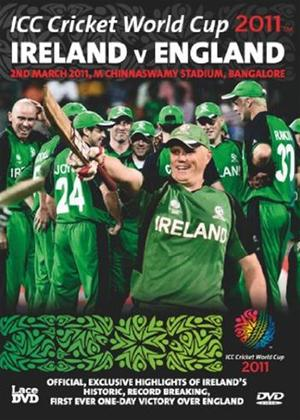 Ireland V England ICC Cricket World Cup Group Match Online DVD Rental