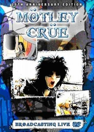 Motley Crue: Broadcasting Live Online DVD Rental