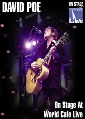 Rent David Poe: World Cafe Live Online DVD Rental
