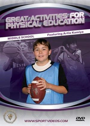 Great Activities for Physical Education: Middle School Online DVD Rental