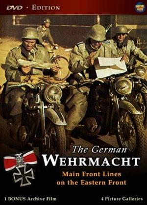 Rent The German Wehrmacht: Main Front Lines on the Eastern Front Online DVD Rental