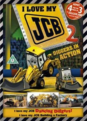 I Love My JCB: Diggers in Action Online DVD Rental