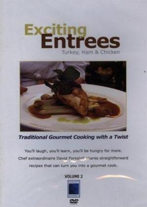 Gourmet Cookin: Exciting Entrees Online DVD Rental
