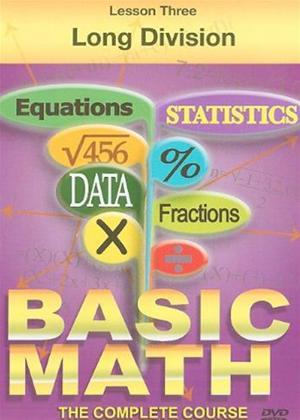 Basic Maths: Long Division Online DVD Rental