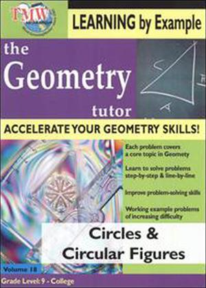 Rent The Geometry Tutor: Circles and Circular Figures Online DVD Rental