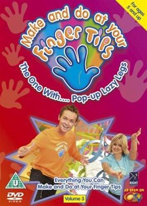 Fingertips: Pop Up Lazy Legs Online DVD Rental