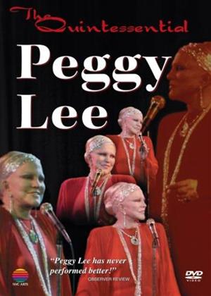 Rent Peggy Lee: The Quintessential Peggy Lee Online DVD Rental