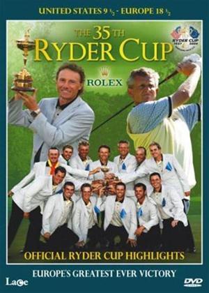 Ryder Cup 2004 Online DVD Rental