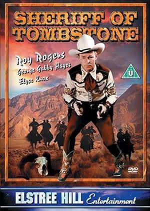 Sheriff of Tombstone Online DVD Rental