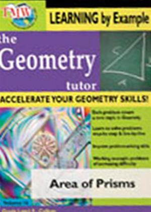 The Geometry Tutor: Area of Prisms Online DVD Rental