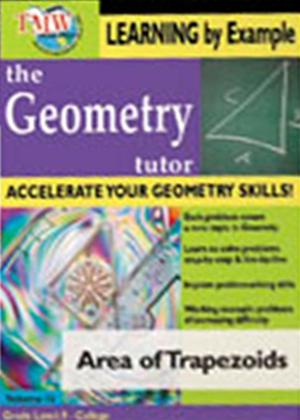 The Geometry Tutor: Area of Trapezoids Online DVD Rental