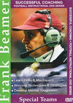 Successful Coaching American Football: Frank Beamer: Special Online DVD Rental