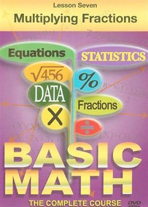 Basic Maths: Multiplying Fractions Online DVD Rental