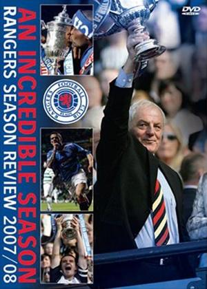 Rangers Season Review 2007- 2008 Online DVD Rental