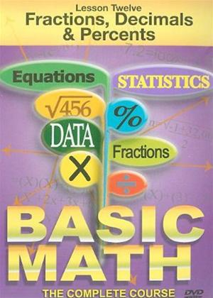 Rent Basic Maths: Fractions Decimals and Percentages Online DVD Rental