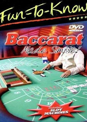 Rent Baccarat Made Simple Online DVD Rental