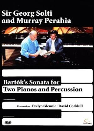 Rent Bartoks Sonata for Two Pianos and Percussion Online DVD Rental