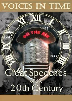 Voices in Time: The Great Speeches Online DVD Rental
