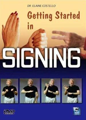 Signing: Getting Started Online DVD Rental