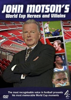 John Motson's World Cup Heroes and Villains Online DVD Rental